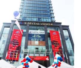 Capital 타워 109 Tran Hung Dao의 주요 사이트에있는 오피스 프로젝트입니다